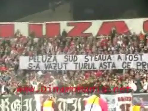 Atmosfera Dinamo Steaua