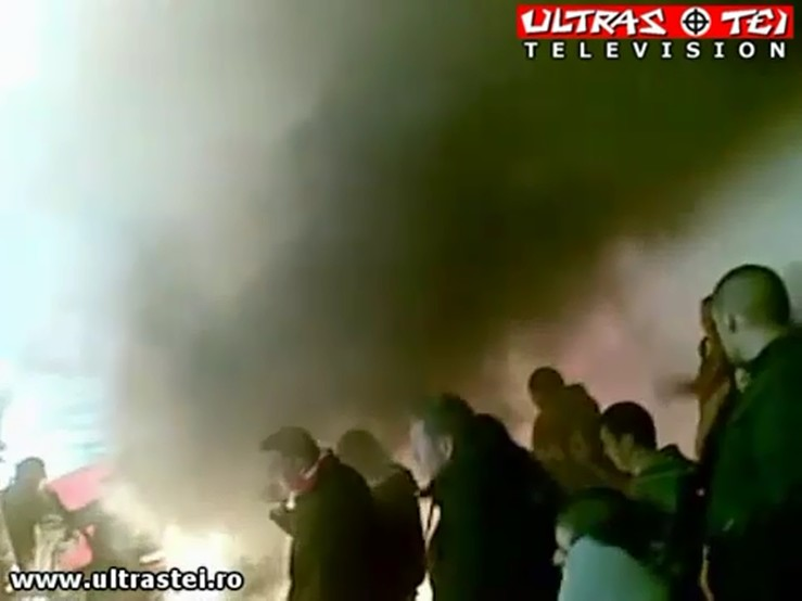 DINAMO 0 - 0 timisoara - Atmosfera in PCH (27 noiembrie 2010)