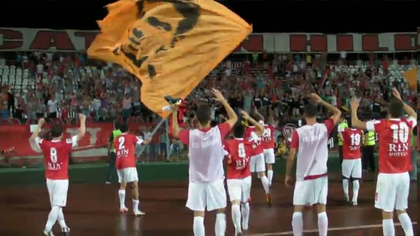 Dinamo - Petrolul - Final de meci