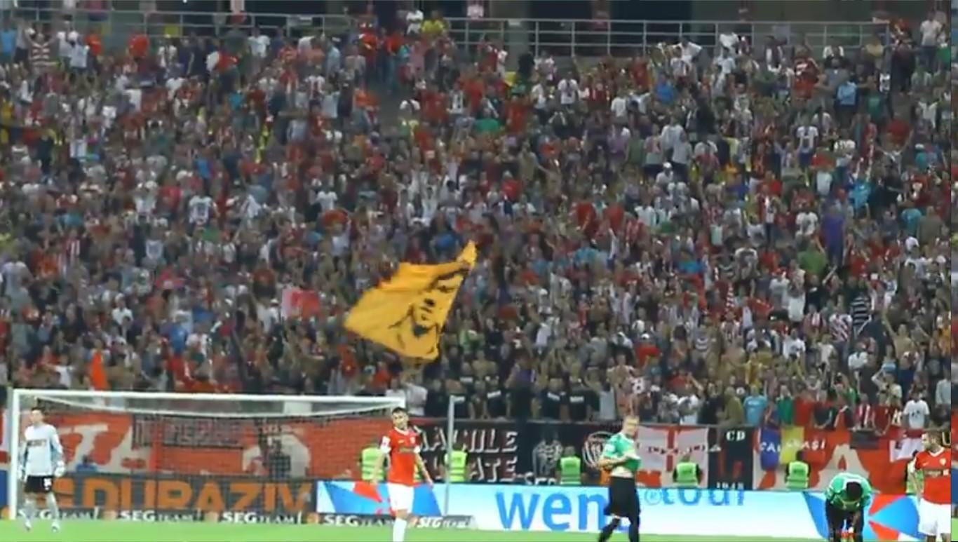 Dinamo - CFR - Mitica la puscarie