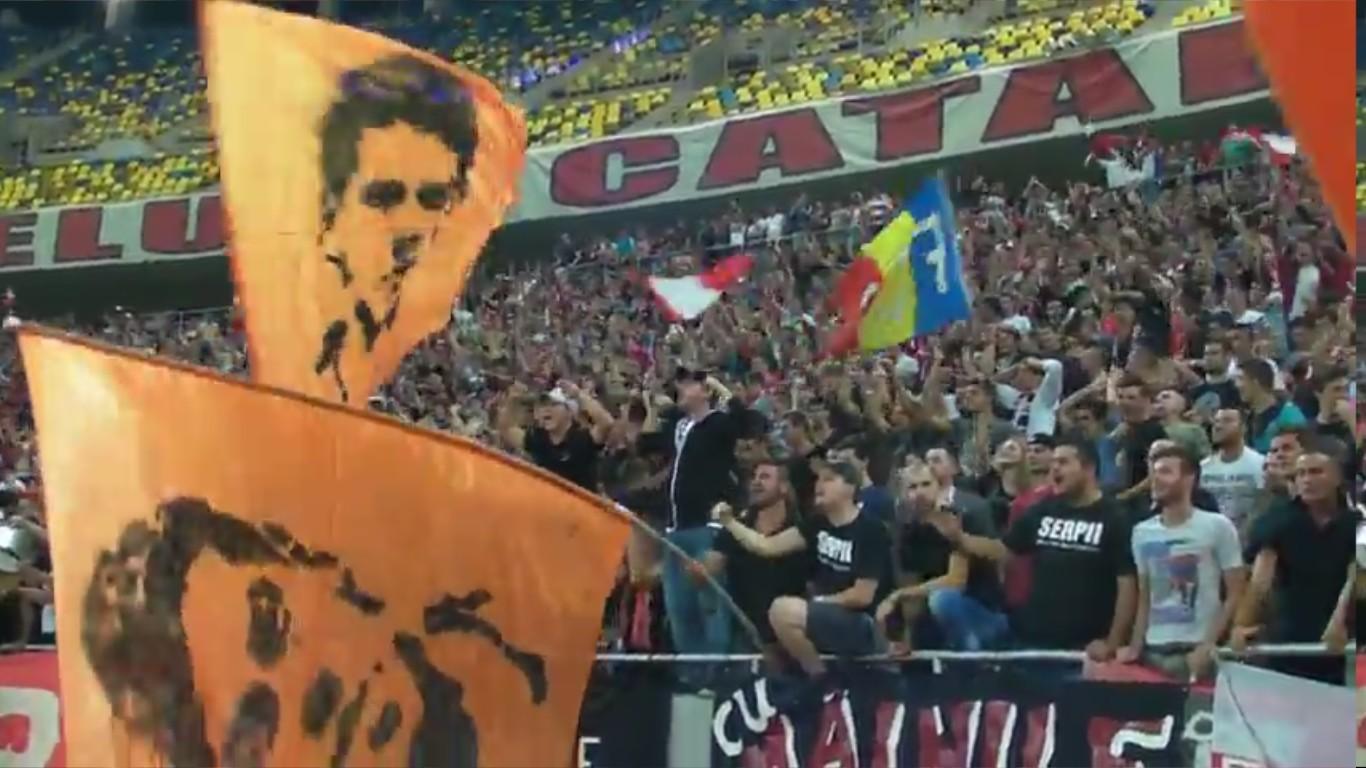 Dinamo - Pandurii - Bucurie la golul lui Alexe