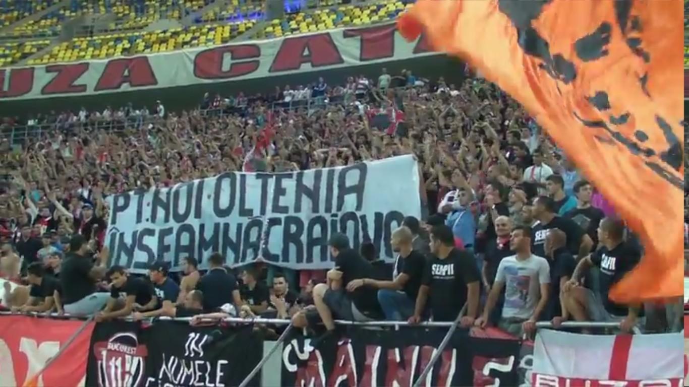 Dinamo - Pandurii - Mircea Sandu esti o mizerie