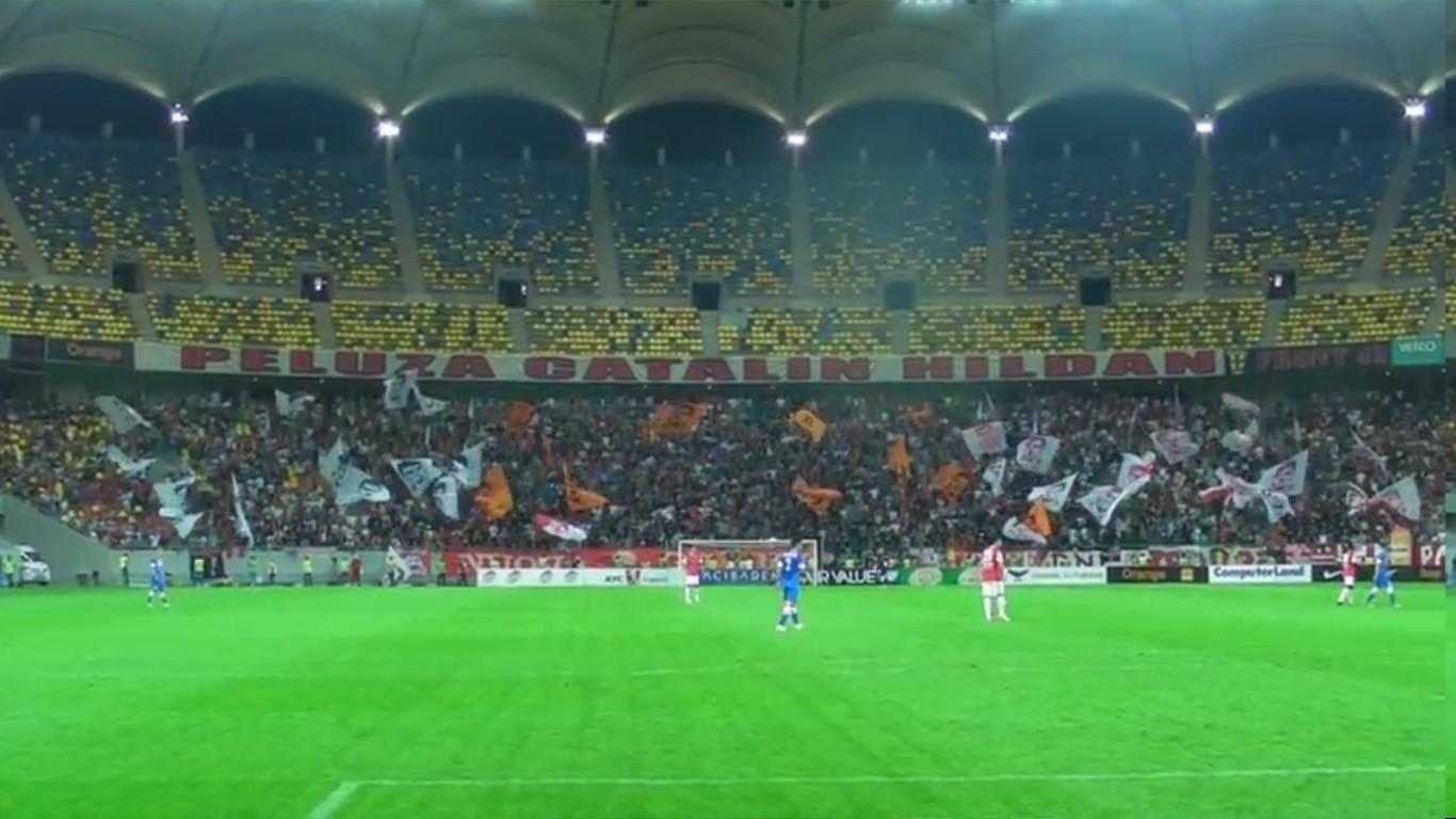 Dinamo - Pandurii - Noi suntem Dinamo in prima repriza