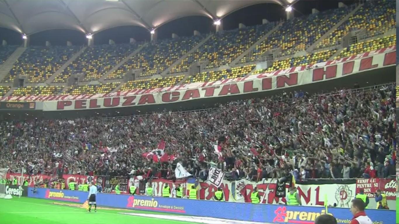 Dinamo - Rapid - 22.10.2012 - Bucurie la golul lui Alexe
