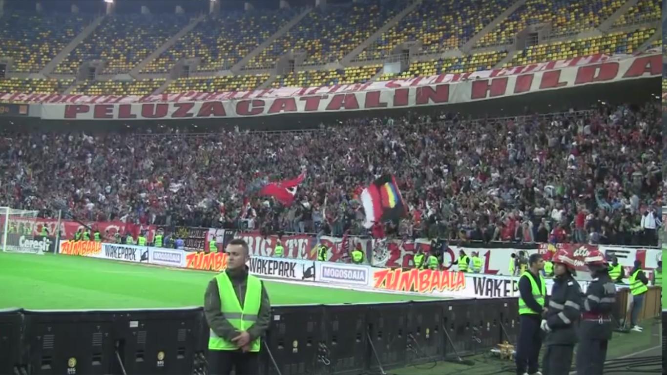 Dinamo - Rapid - 22.10.2012 - Bucurie la primul gol