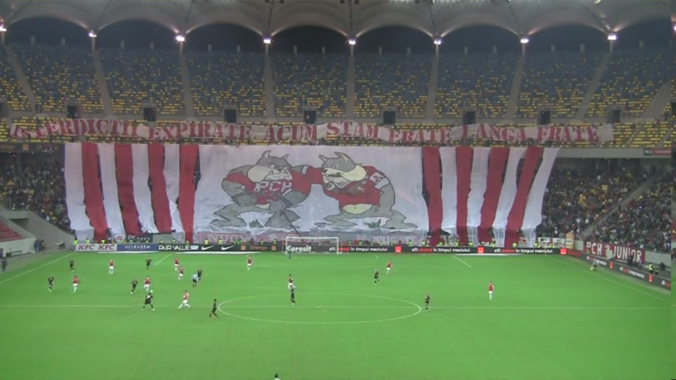 Dinamo - Rapid - 22.10.2012 - Coregrafie Peluza Catalin Hildan