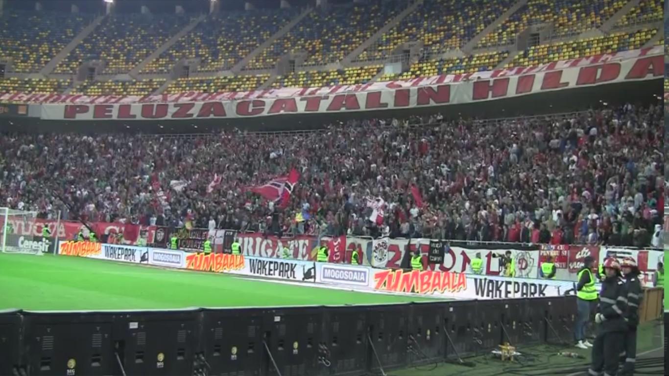 Dinamo - Rapid - 22.10.2012 - Forza Dinamo Ale impreuna cu T2