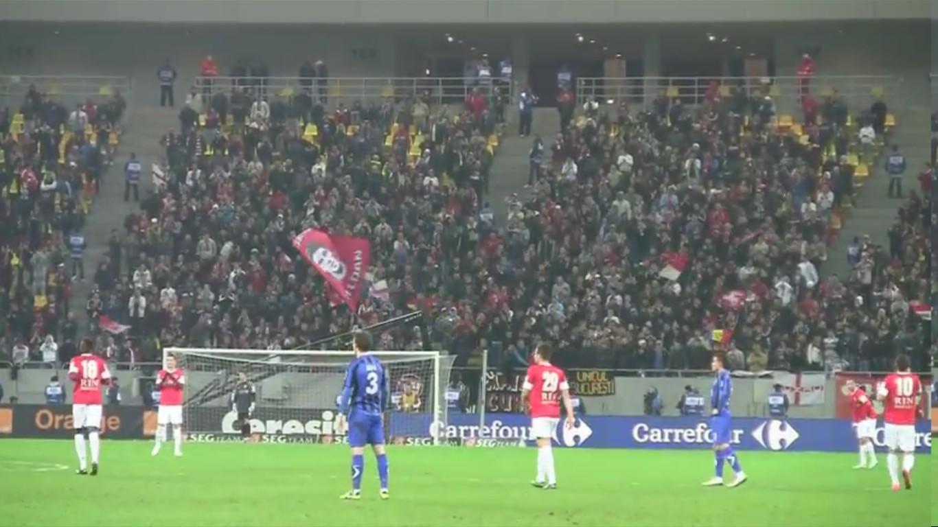 Dinamo - Otelul - 24.11.2012 - Atmosfera la golul lui Alexe