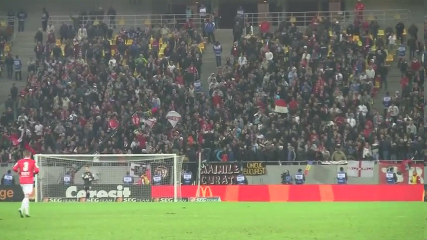 Dinamo - Otelul - 24.11.2012 - Atmosfera la golul lui Matei