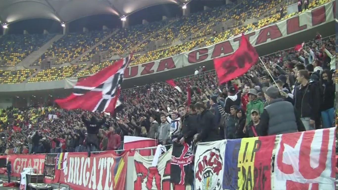 Dinamo - Vaslui - 10.11.2012 - Atmosfera din peluza - 2