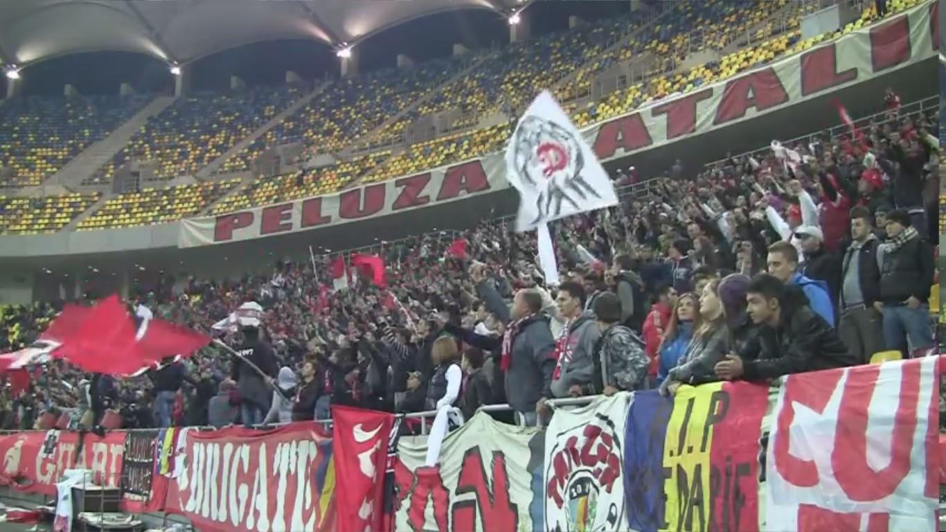 Dinamo - Vaslui - 10.11.2012 - Mitica la puscarie