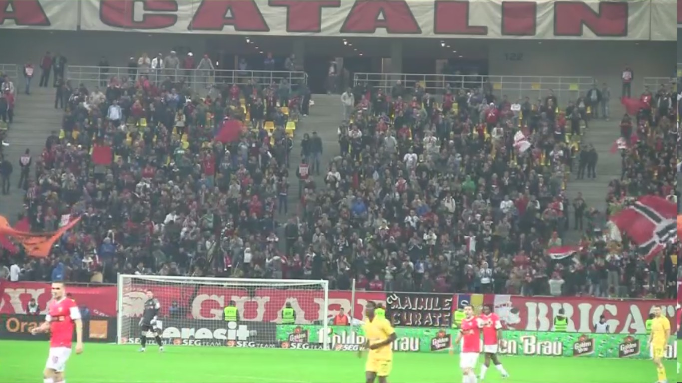 Dinamo - Vaslui - 10.11.2012 - Noi n-am uitat de vremea buna