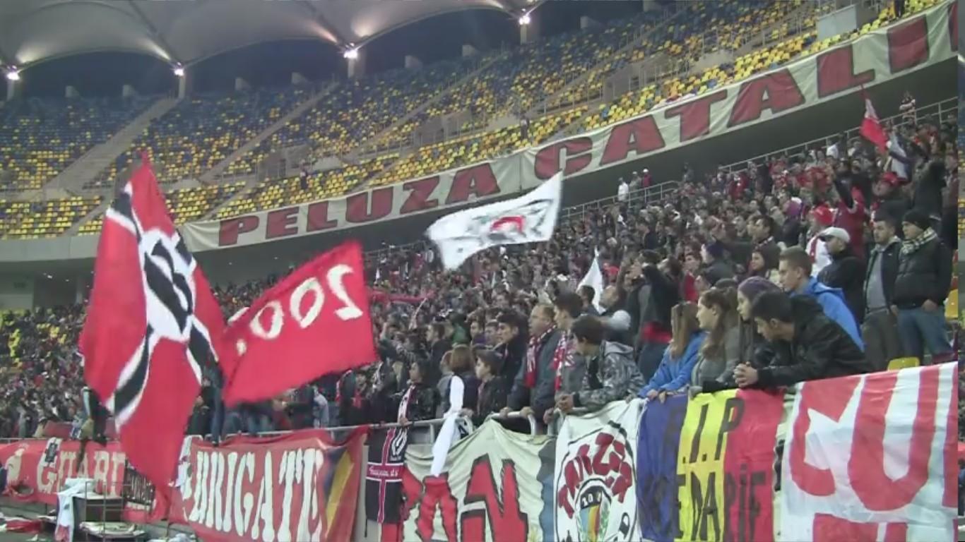 Dinamo - Vaslui - 10.11.2012 - Scandari Anti-Conducere