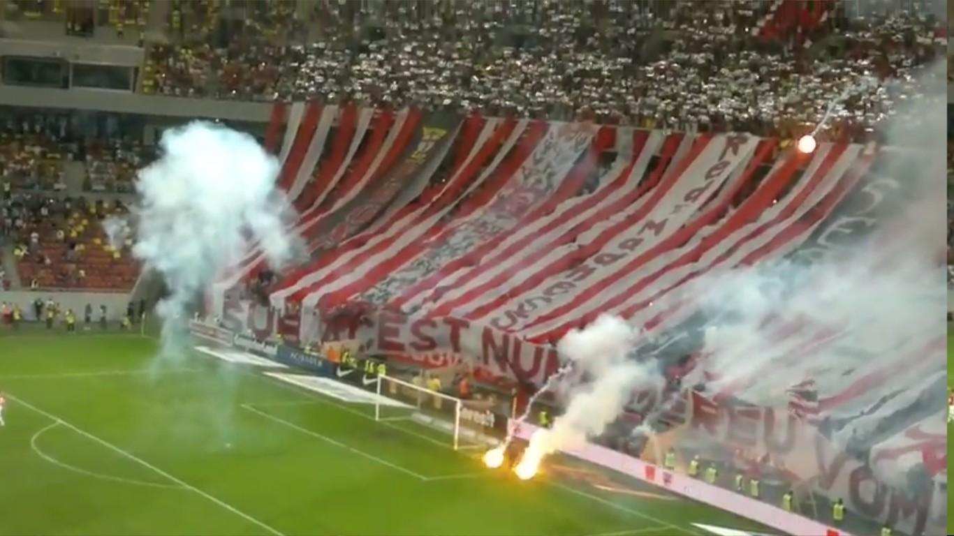 Dinamo - steaua - 10.05.2013 - Atmosfera la inceput de meci